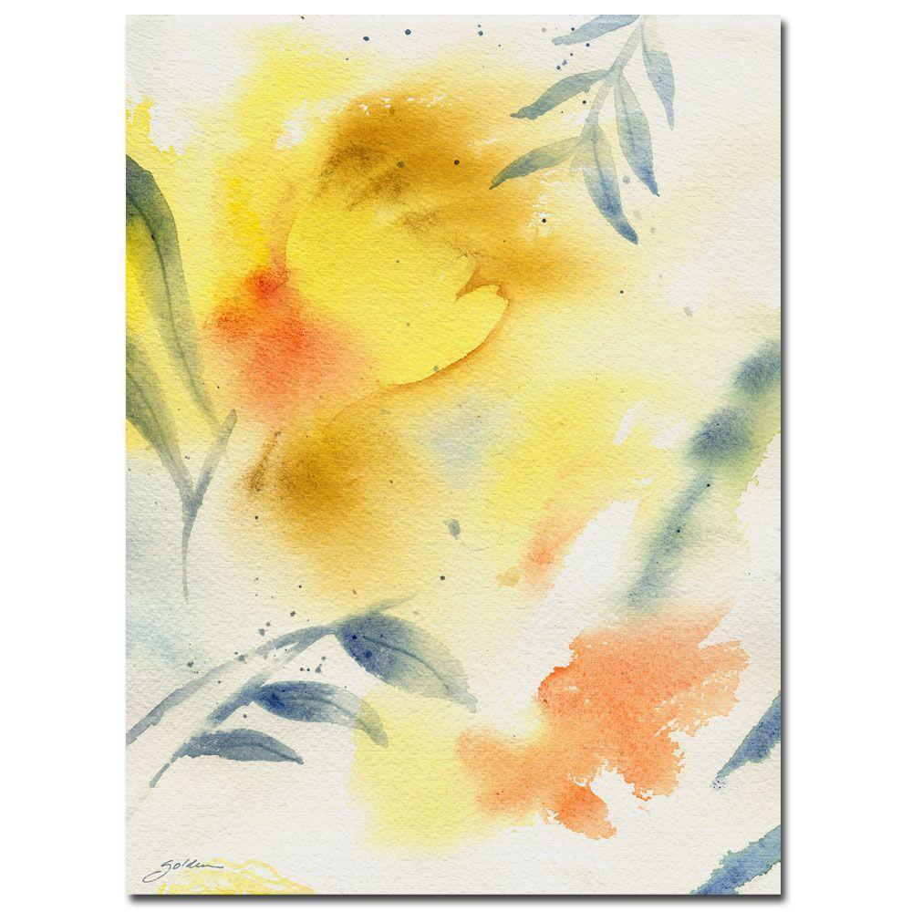 Trademark Fine Art 35 In X 47 Sheila Golden Leaf Spirit
