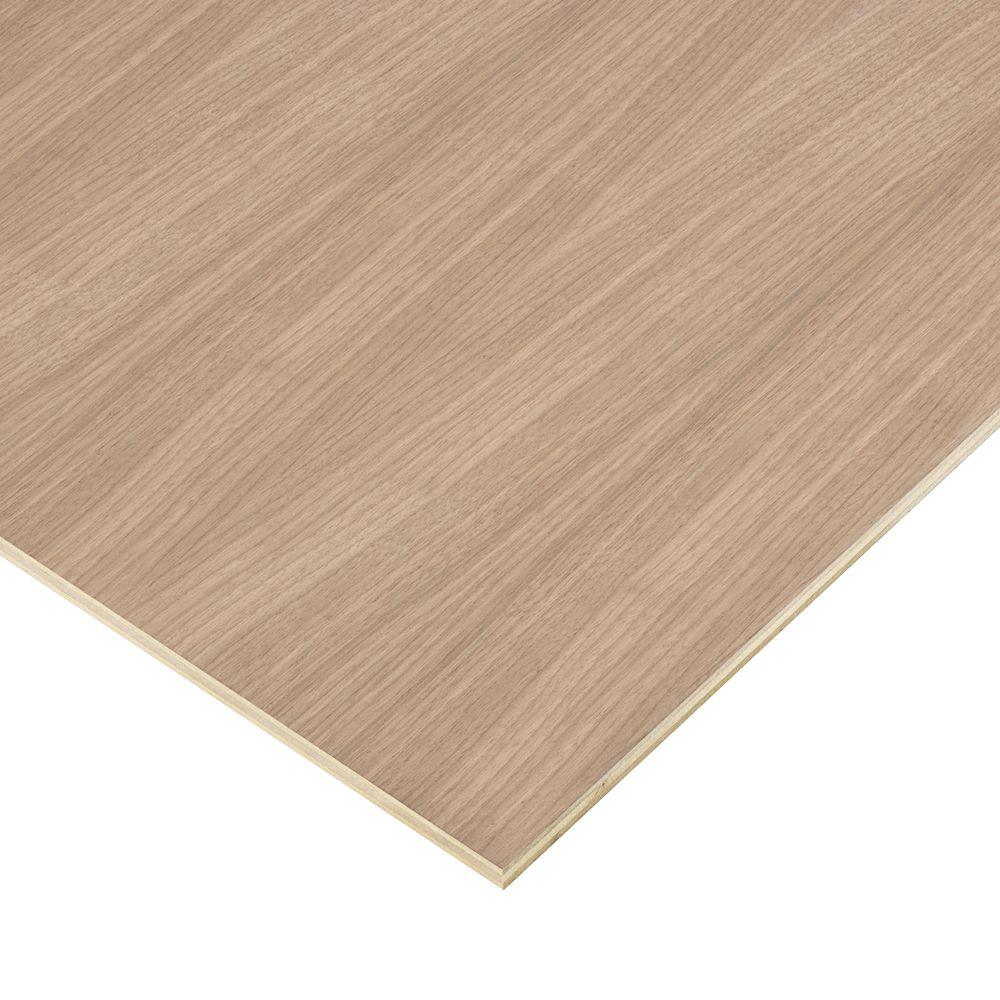 Columbia Forest Products 1/2 in. x 4 ft. x 4 ft. PureBond Walnut Plywood Project Panel (Free Custom Cut Available)