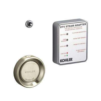 Steam Adapter Kit in Vibrant Brushed Nickel