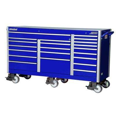 SHD Series 73 in. 21-Drawer Cabinet, Blue