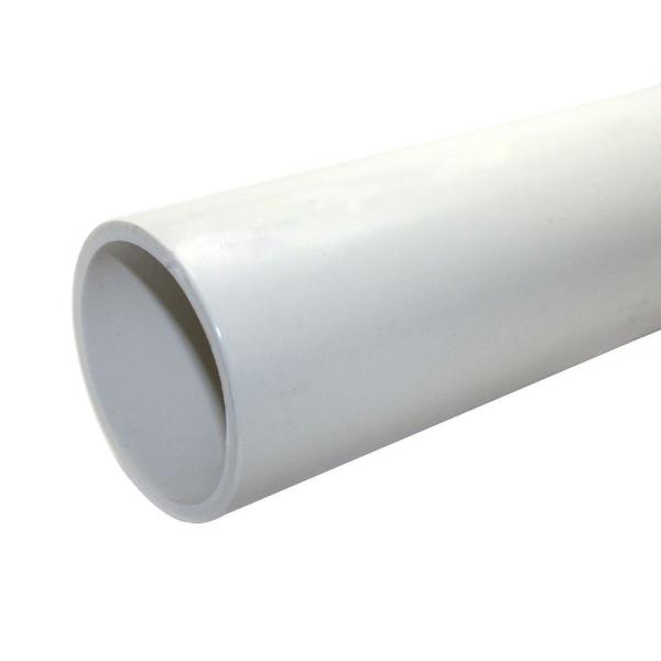 3 in. x 10 ft. PVC Schedule 40 DWV Foamcore Pipe