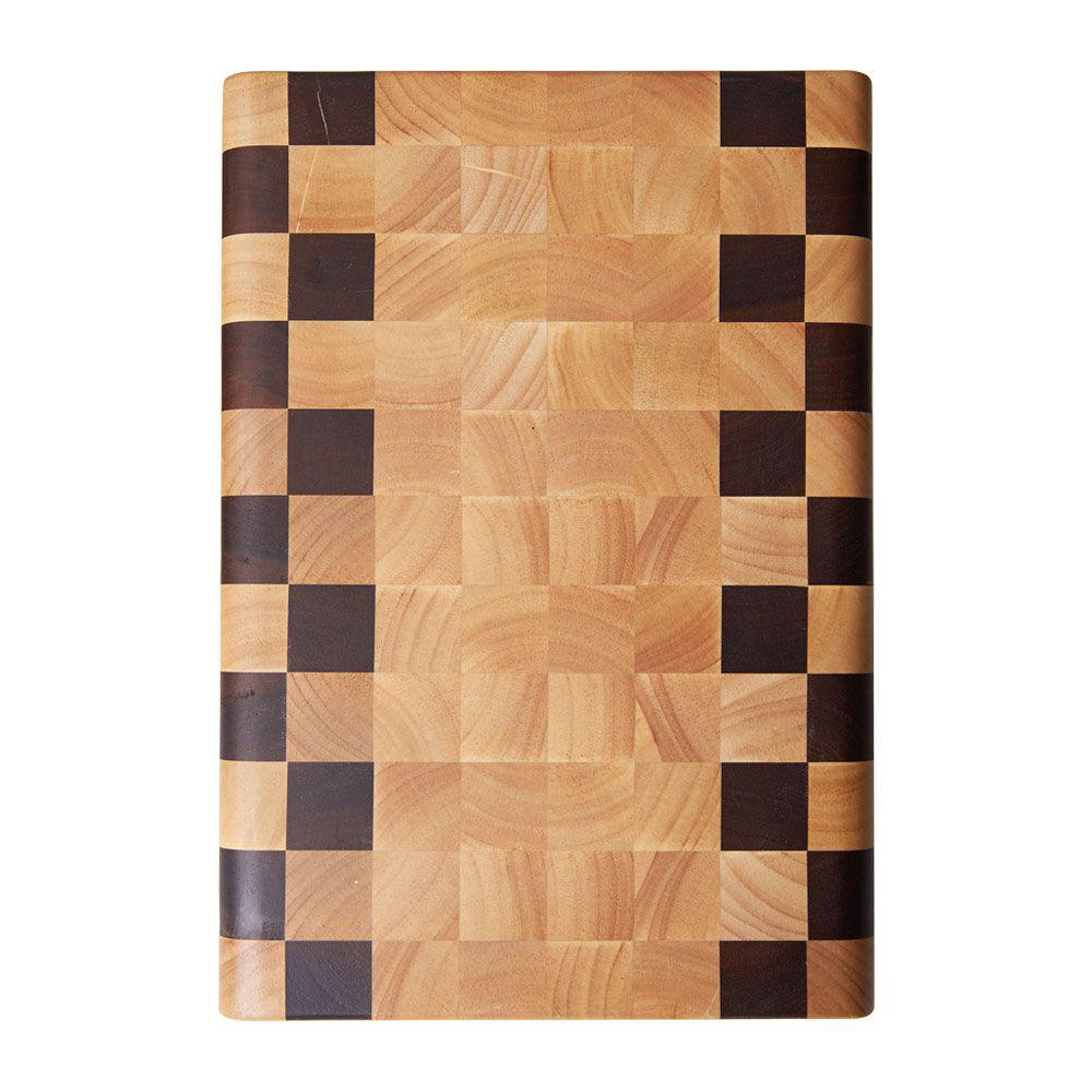 14 x 10 in. Natural Multi Wood Acacia Cheese Board