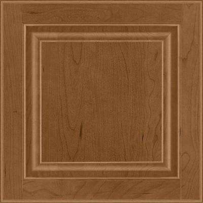 14-9/16 in. x 14-1/2 in. Cabinet Door Sample in Portola Cherry Autunm