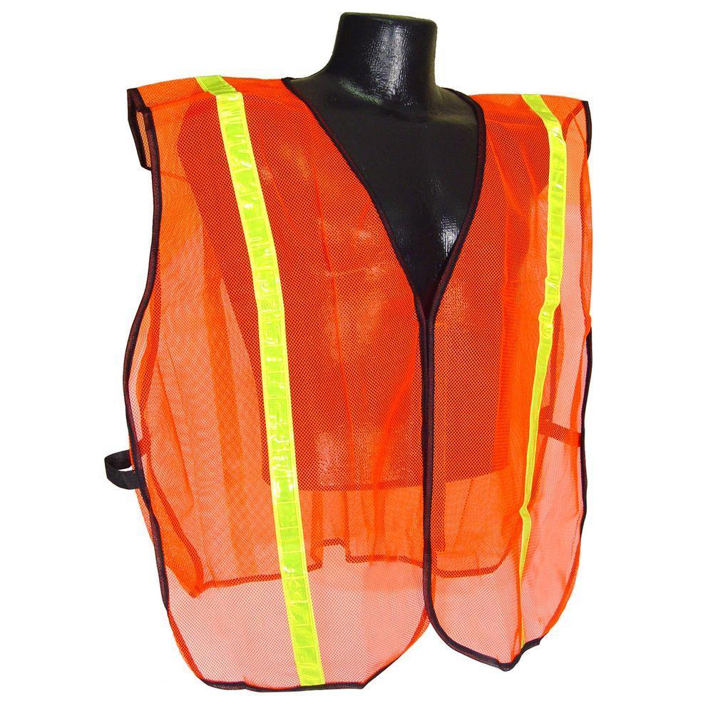 Radians Safety Vest Orange Mesh 1 inch Tape by Radians