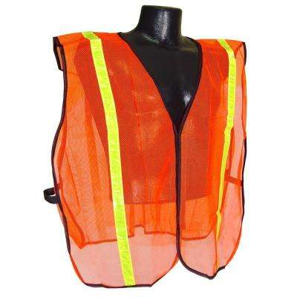Safety Vest Orange 1 in. Tape S-XL