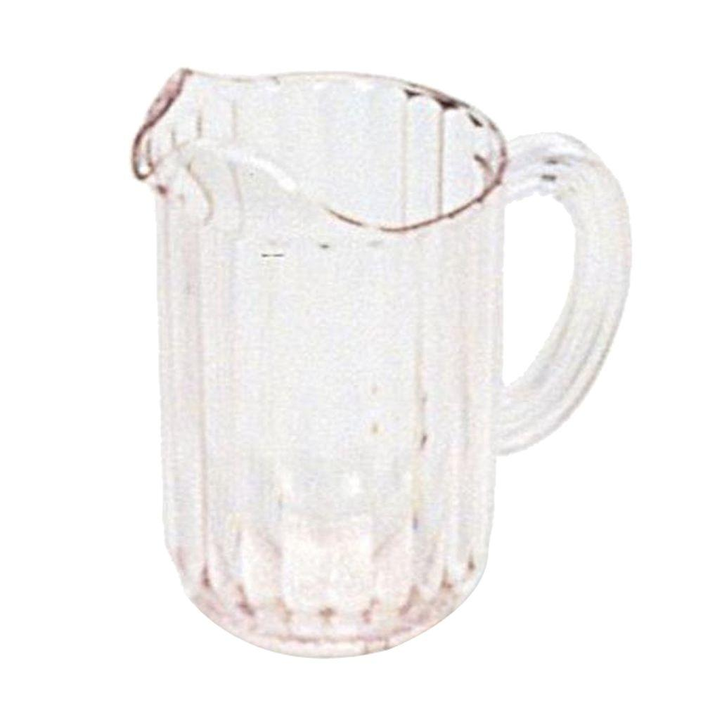 rubbermaid commercial products 60 oz bouncer plastic pitcher rcp333800cr the home depot. Black Bedroom Furniture Sets. Home Design Ideas