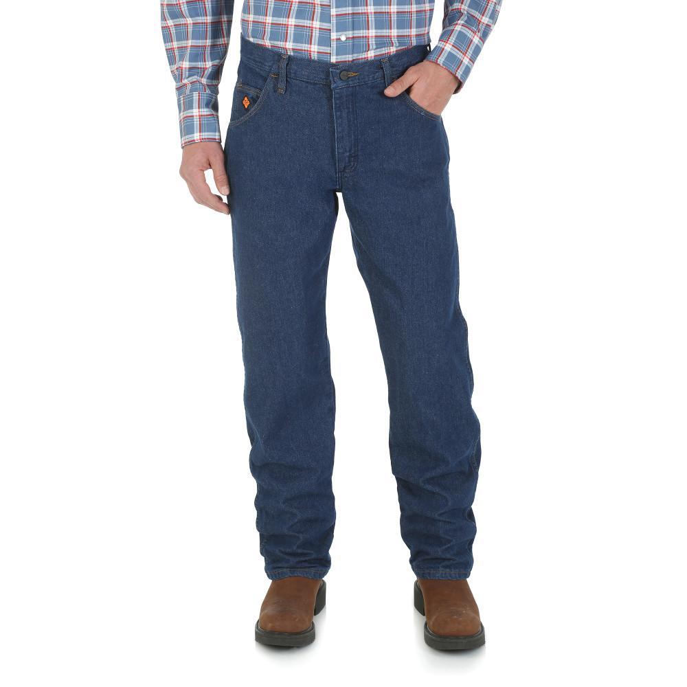 Men's Size 34 in. x 34 in. Prewash Regular Fit Jean