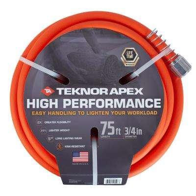 Premium 3/4 in. Dia x 75 ft. Tradesman-Grade Water Hose