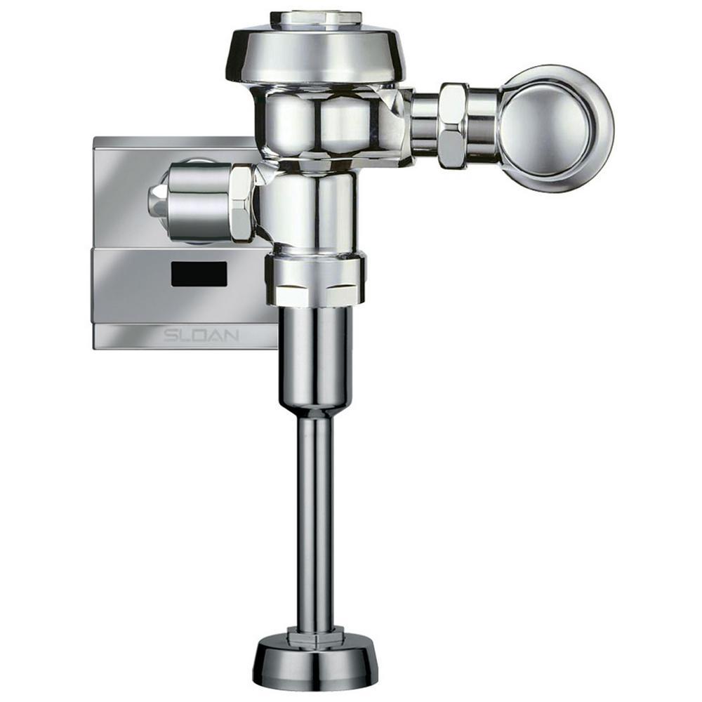 Exposed, Sensor Activated Royal Model Urinal Flushometer for 3/4 in. Top Spud Urinals
