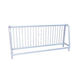 Ultra Play 10 ft. Galvanized Commercial Park Single Sided Bike Rack Portable by Ultra Play