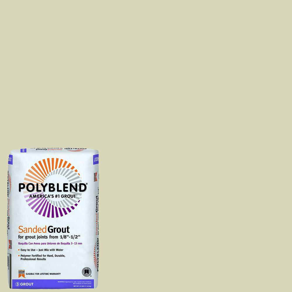 Custom Building Products Polyblend #10 Antique White 25 lb. Sanded Grout