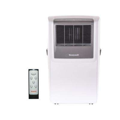 10,000 BTU Portable Air Conditioner with Dehumidifier, Front Grille and Remote Control - White/Grey