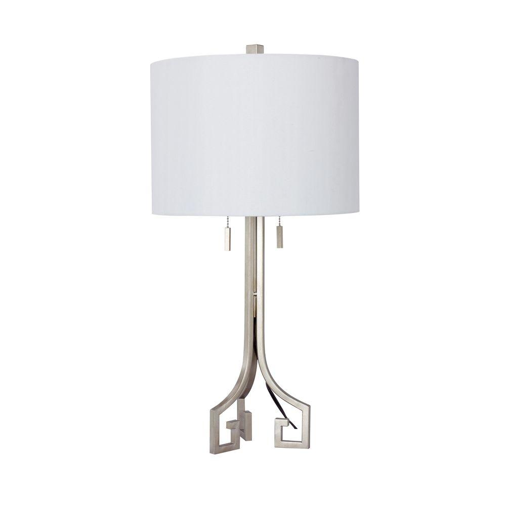 Merveilleux Champagne Gold Modern Metal Table Lamp