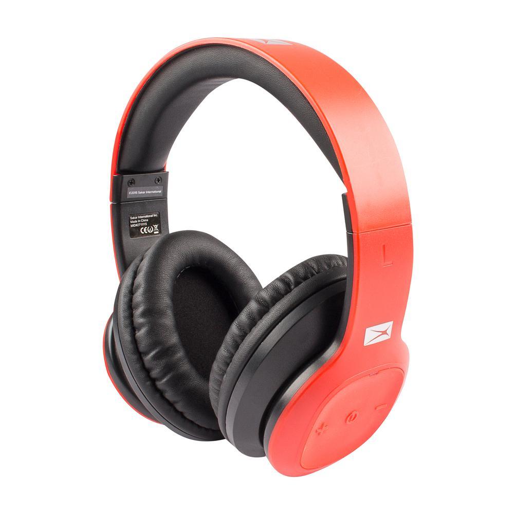 altec lansing bluetooth headphones mzw300 red hd the home depot. Black Bedroom Furniture Sets. Home Design Ideas
