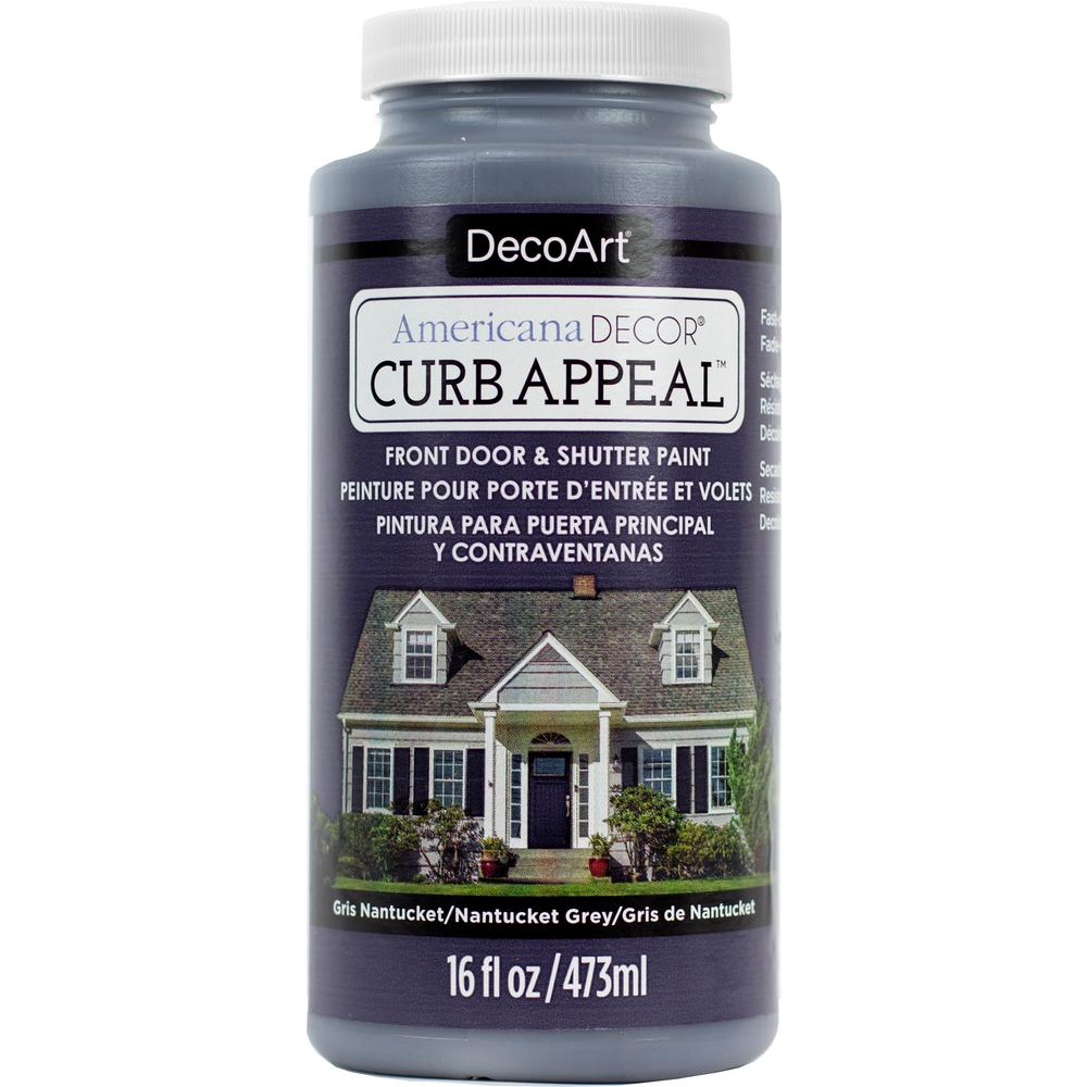 Americana Decor Curb Appeal 16 oz. Nantucket Grey Paint