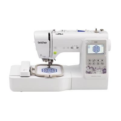 2-in-1 103-Stitch Embroidery Machine with Sew Smart Color Touch LCD Screen