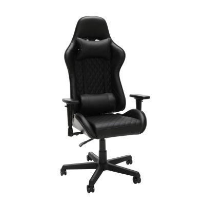 100 Racing Style Gaming Chair, in Black (RSP-100-BLK)