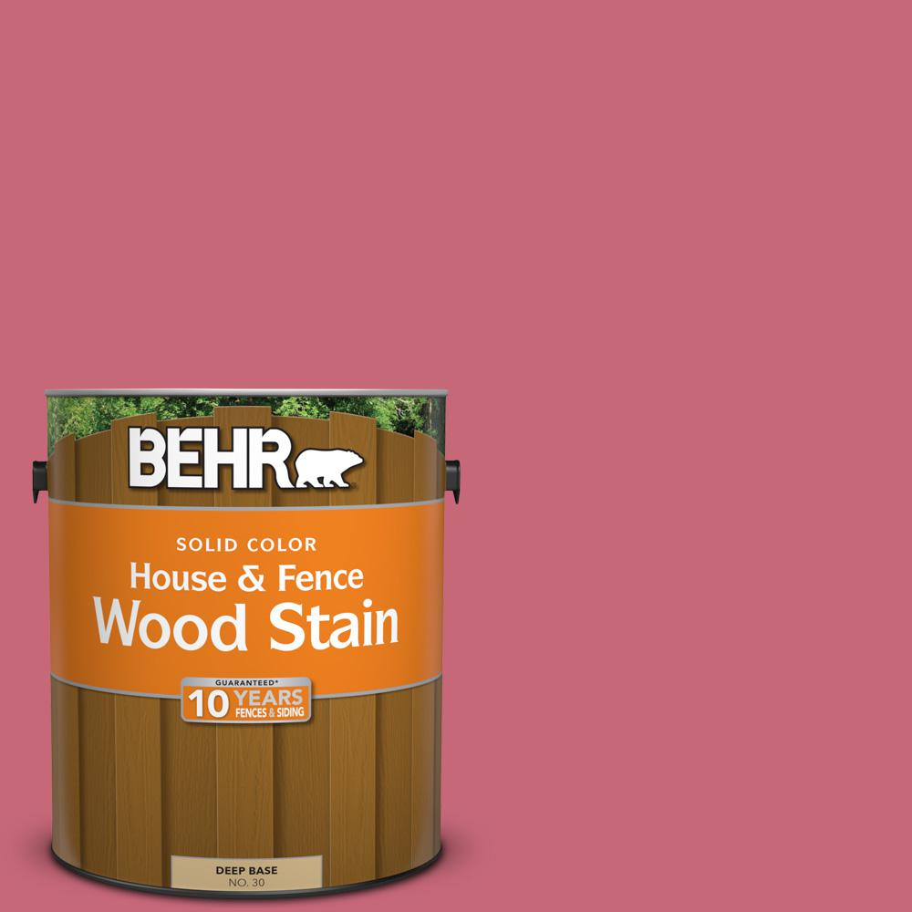 BEHR 1 gal. #P140-5 Lovebirds Solid Color House and Fence Exterior ...