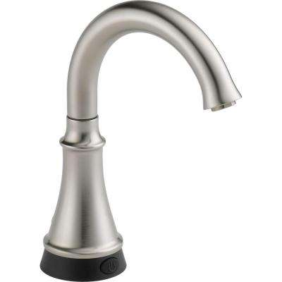 Traditional Single-Handle Water Dispenser Faucet with Touch2O Technology in Stainless