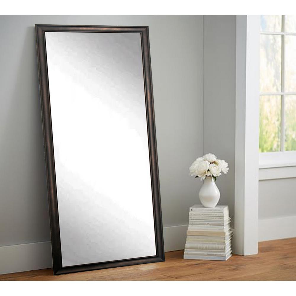 Urban Clouded Bronze Tall Framed Mirror
