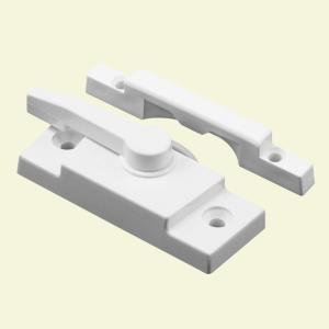 Prime-Line White Vinyl Window Sash Lock by Prime-Line