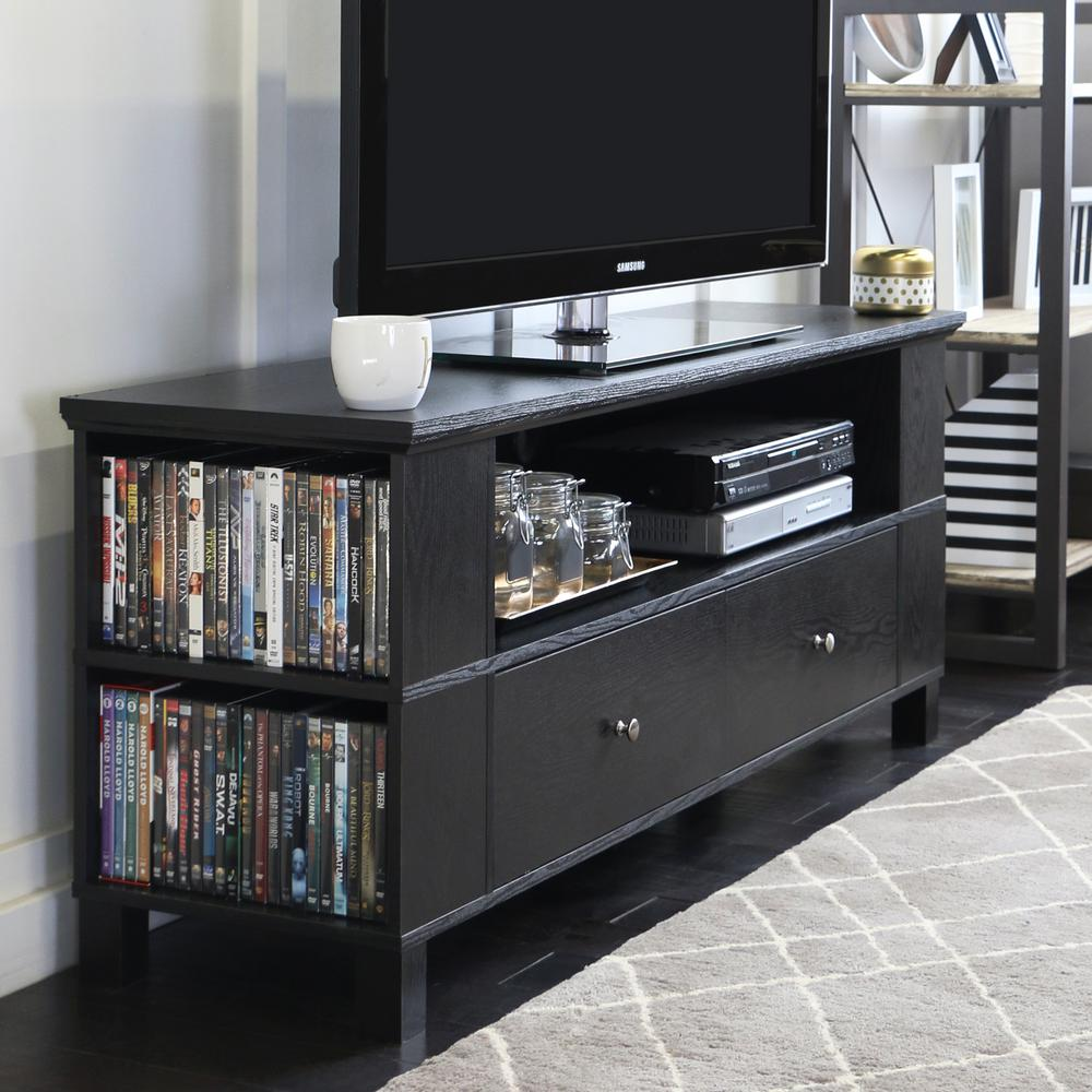 Walker Edison Furniture Company Columbus Black Entertainment Center