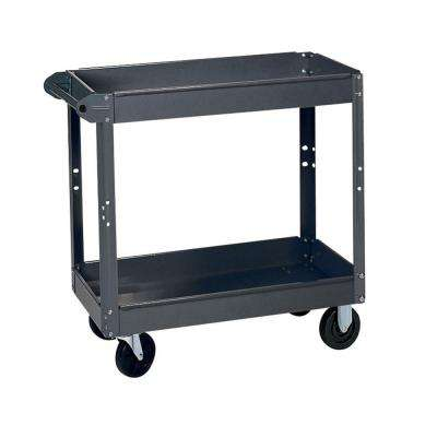 24 in. W x 36 in. D x 32 in. H Steel Service Cart