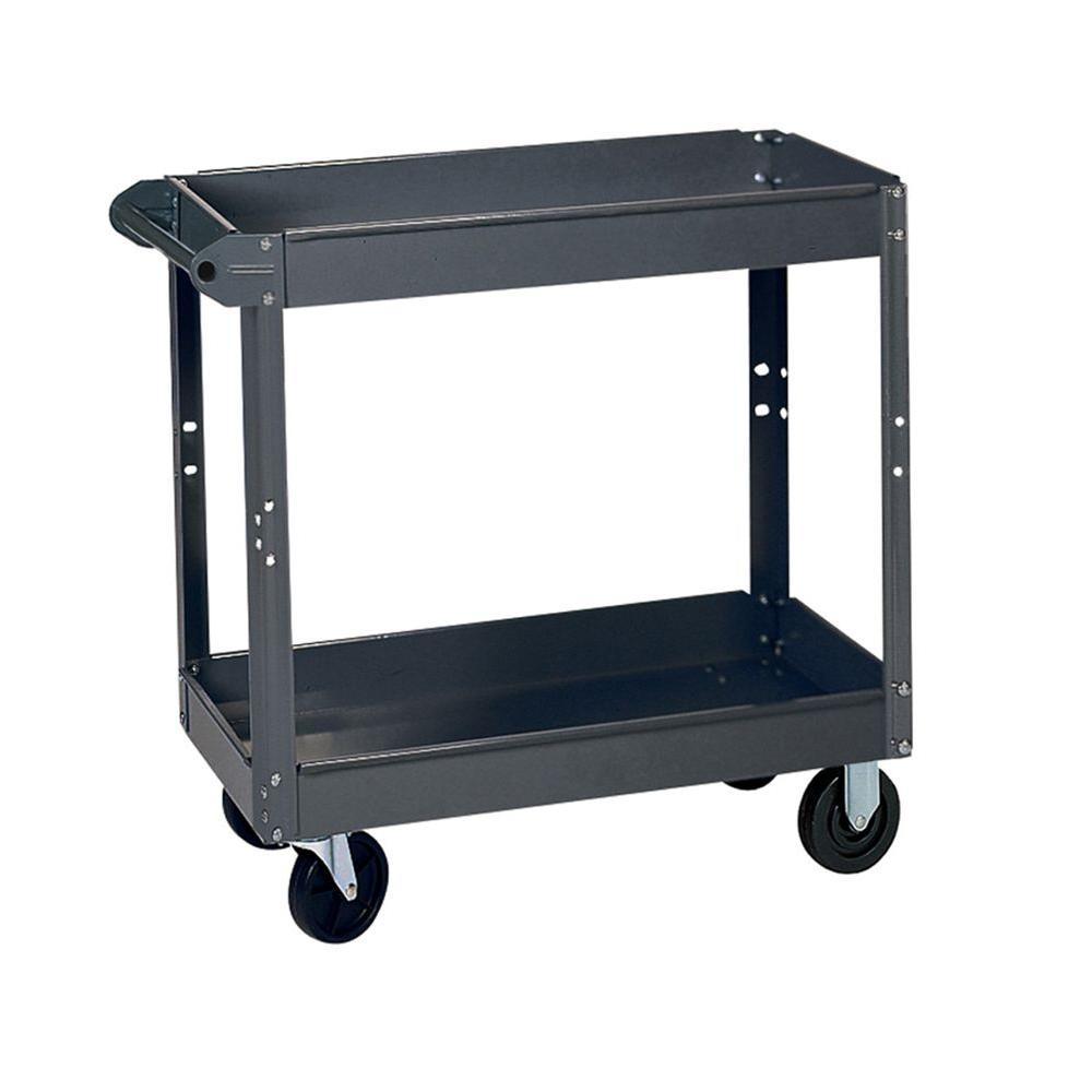 24 in. W x 36 in. D x 32 in. H Steel Service Cart
