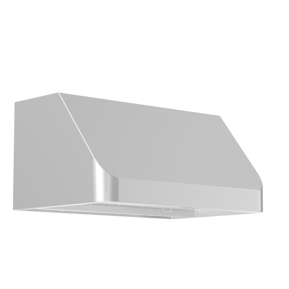 Zline Kitchen And Bath Zline 54 In. 1000 Cfm Under Cabinet Range Hood In Stainless Steel, 19 Gauge #430 Brushed Stainless Steel