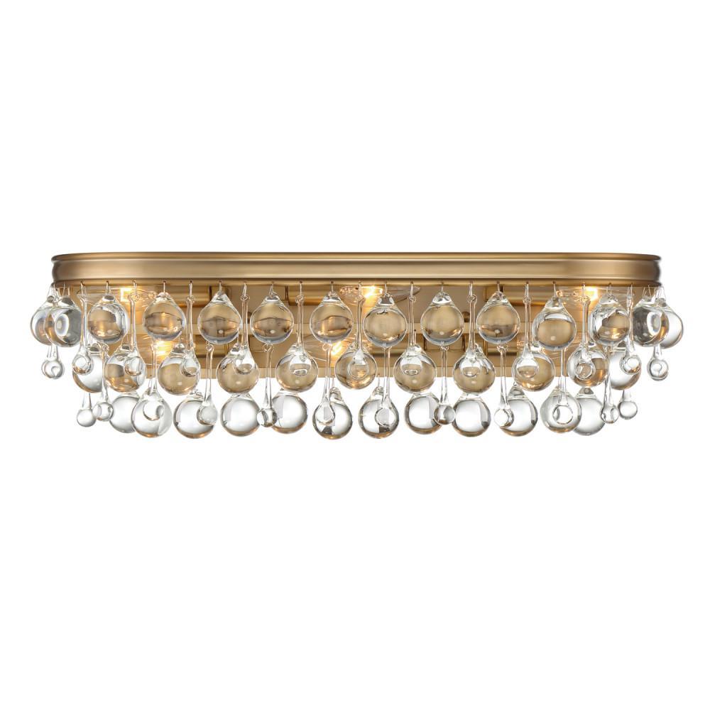 Calypso 6-Light Vibrant Gold Vanity Light