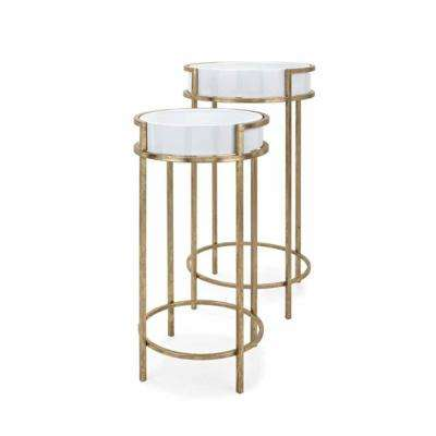 Hester White Accent Tables (Set of 2)