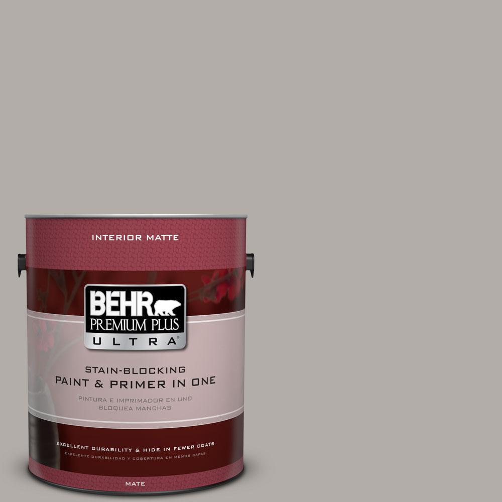 BEHR Premium Plus Ultra 1 gal. #BXC-16 City of Bridges Matte Interior Paint
