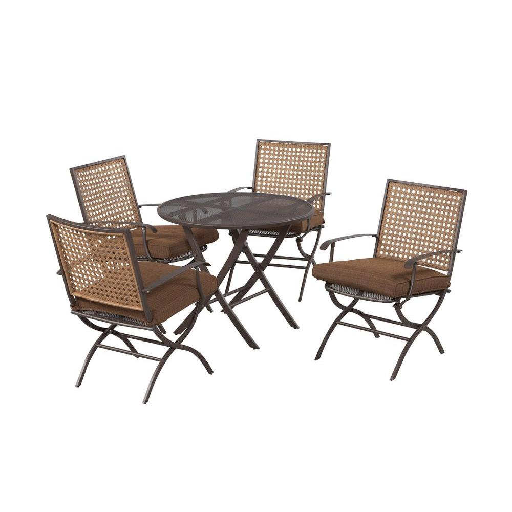 Hampton Bay Folding Patio Dining Table (Table Only)-DISCONTINUED