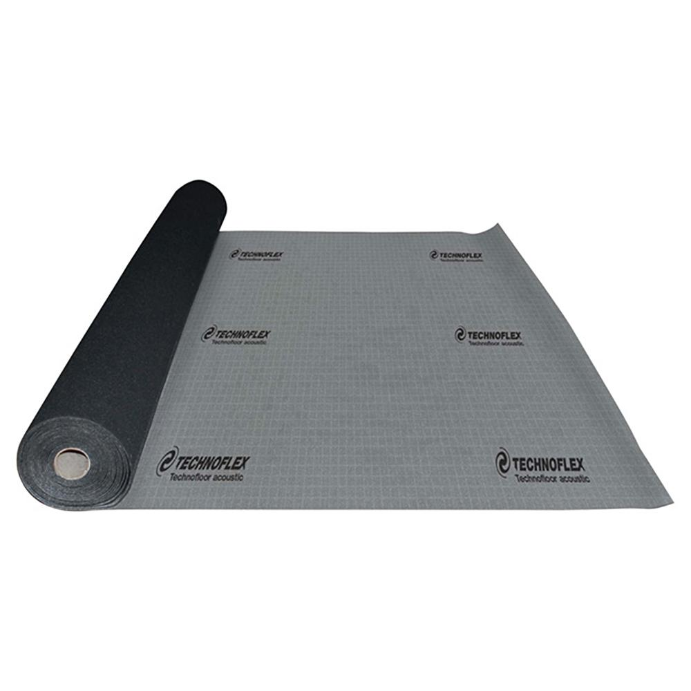 Technoflex Technofloor Acoustic 100 Sq Ft 48 In X 25 Ft X 0 13