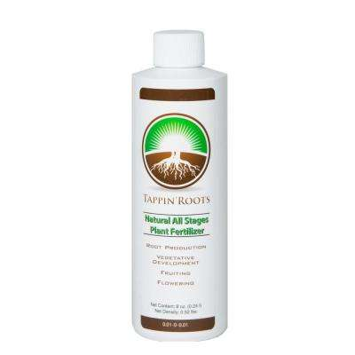 8 oz. 4-in-1 Natural All Stages Plant Fertilizer