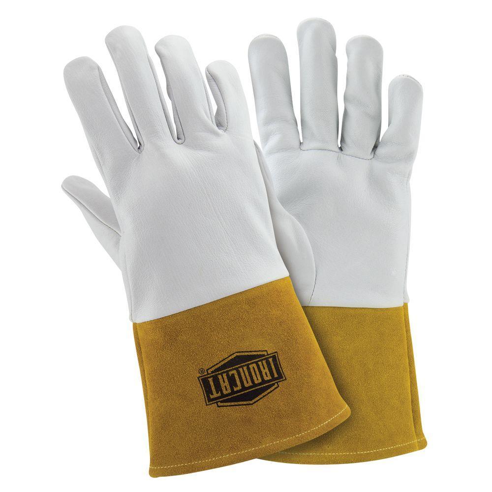 Ironcat Premium Top Grain Kidskin TIG Welding Gloves-6141/L - The ...