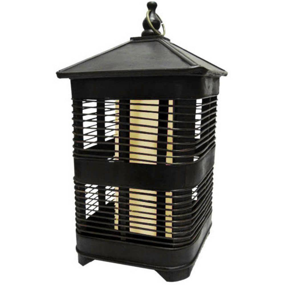null 20 in. Solar Zen Square Birdcage with Soft White Light