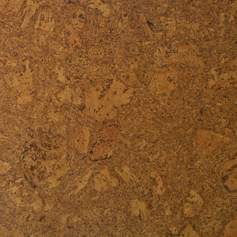 Take Home Sample - Bronzed Fossil Cork Flooring - 5 in.