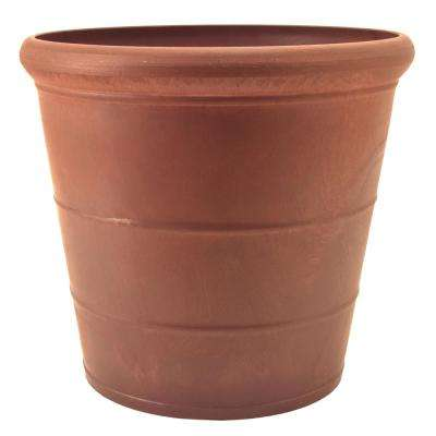 Basic Drop 11-1/2 in. x 10-1/2 in. Terra Cotta PSW Pot