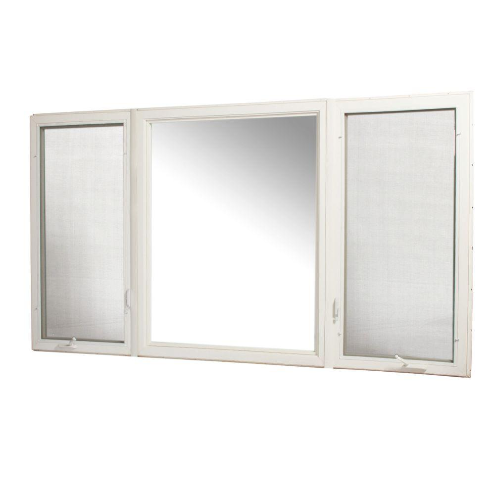Tafco Windows 107 In X 60 In Vinyl Casement Window With