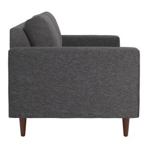 Admirable Zuo Kace Slate Gray Sofa 101322 The Home Depot Beatyapartments Chair Design Images Beatyapartmentscom
