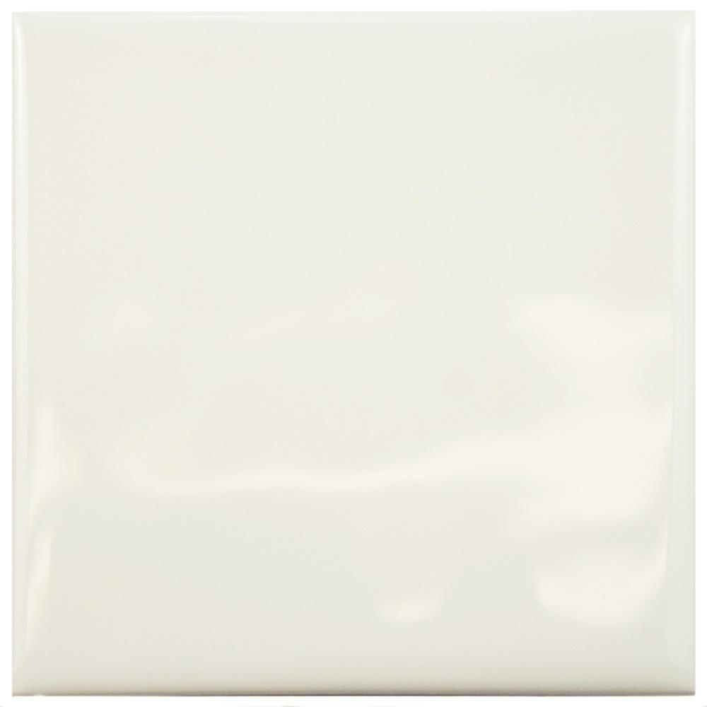 Merola Tile Twist Square Soft Cream 3 34 In X 3 34 In Ceramic