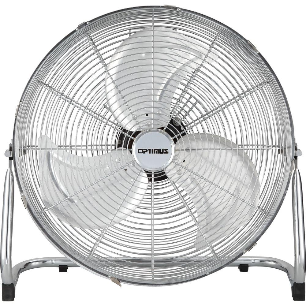 Optimus 18 in industrial grade high velocity fan f4182 for 16 inch window box fan