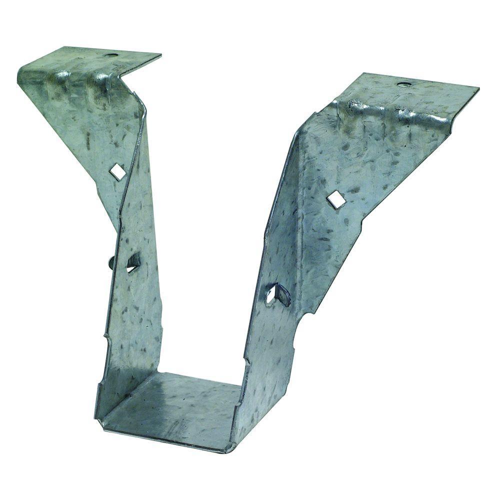 PF 18-Gauge ZMAX Galvanized Post Frame Hanger for 2x4 Nominal Lumber