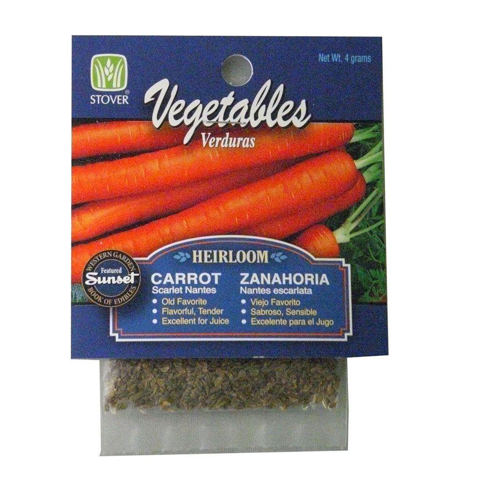 Carrot Scarlet Nantes Seed
