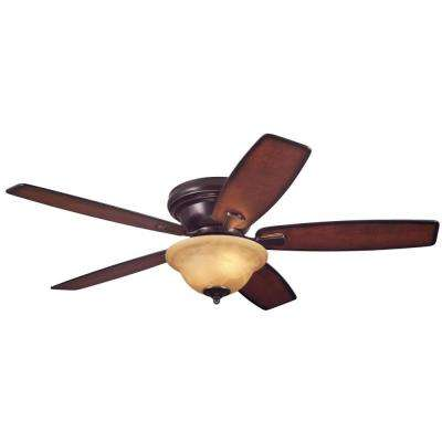 Sumter 52 in. LED Classic Bronze Ceiling Fan