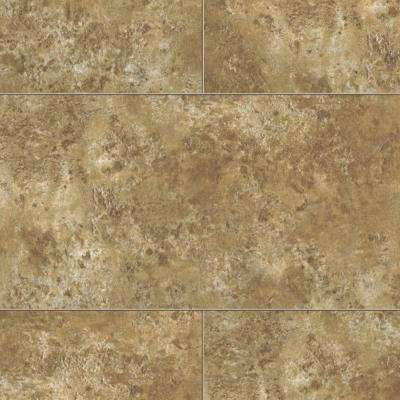 Coastal Travertine 8 mm Thick x 11-1/9 in. Wide x 23-5/6 in. Length Click Lock Laminate Flooring (22.04 sq. ft. / case)