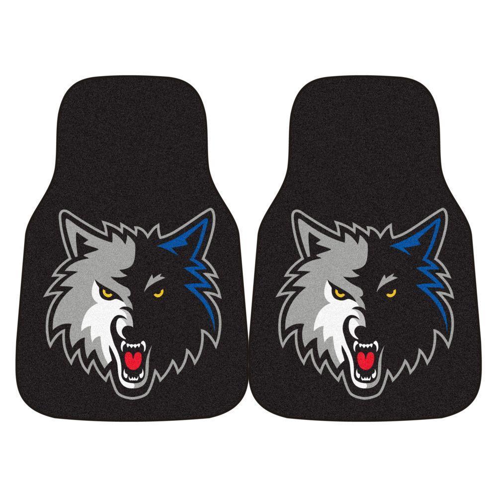 Fanmats Minnesota Timberwolves 18 In X 27 In 2 Piece