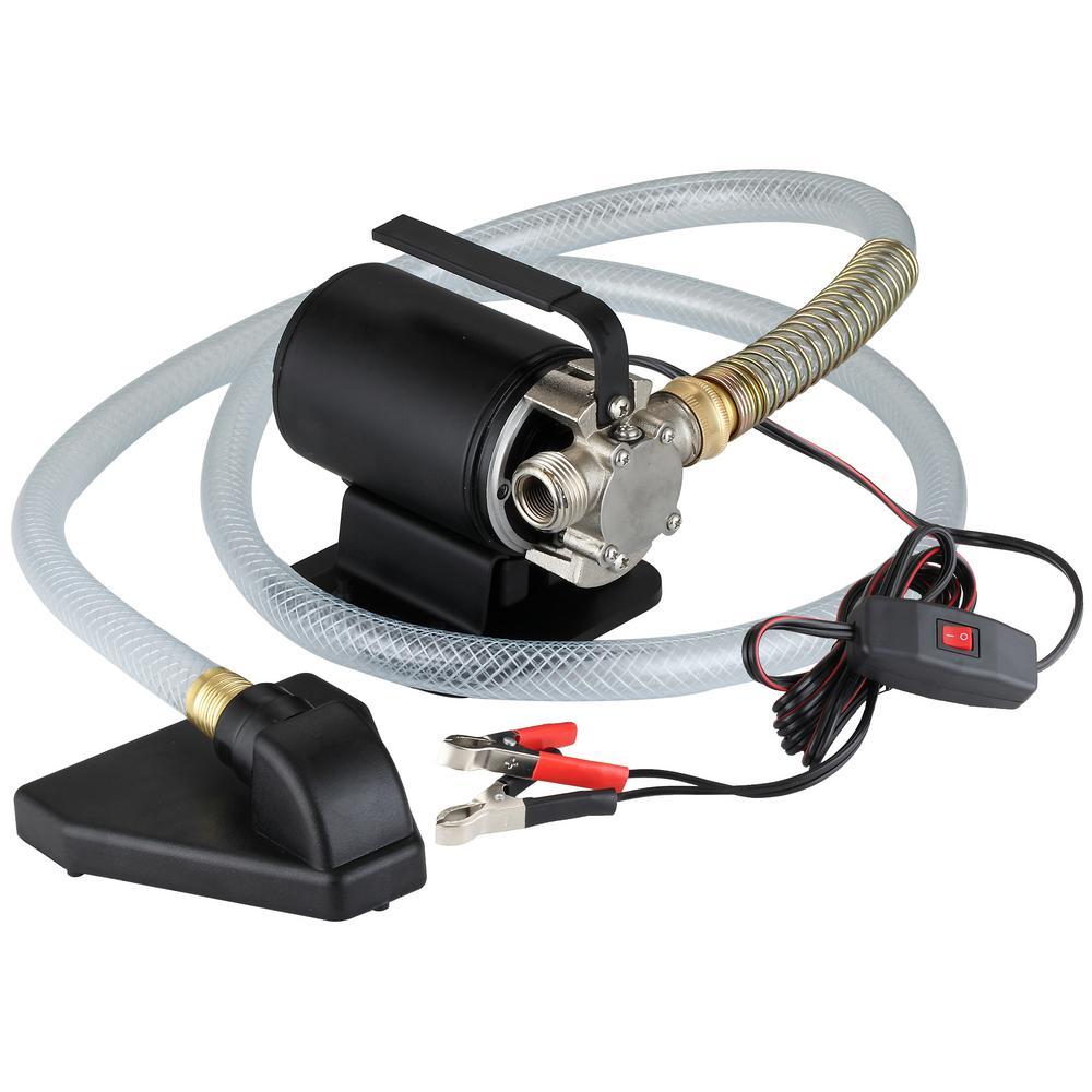 1/10 HP 12-Volt Utility Transfer Pump