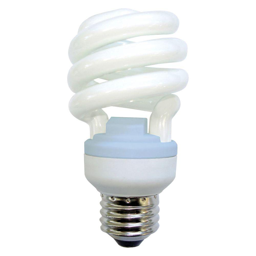 GE Reveal 100W Equivalent Reveal (2500K) A-Line Spiral CFL Light Bulb (2-Pack)
